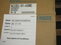 380000 Btu 13.2 Gpm Noritz Ng Commercial Water Heater Scratch And Dent Status M CATD315N,