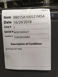 R801sa100521msa Ruud 3.5 - 5 Ton 80% Afue 115/1 Ph Single Stage Natural Gas Furnace Scratch And Dent Status M CATD316R,R801SA100521MSA,662021365676,R801,R801S,RF100,RGPS,GS146024,7489172,