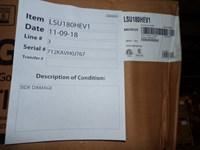 Lsu180hev1 Lg 18k Btu 18 Seer 208/230 Volts Mini Split Outdoor Scratch And Dent Status M CATD317LG,