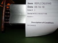 921951 B4vmx24ka Luvata Repl Coil Scratch And Dent Status M CATD328,921951,