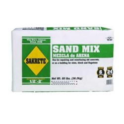 Txi Sakrete Sand Mix 80lb CAT250CON,