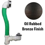 900-ltsf-0-bz Innovator Lift And Turn Stopper/snap-on Overflow Plate Rubbed Bronze
